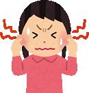 自律神経の乱れ、ストレスや不規則な生活など