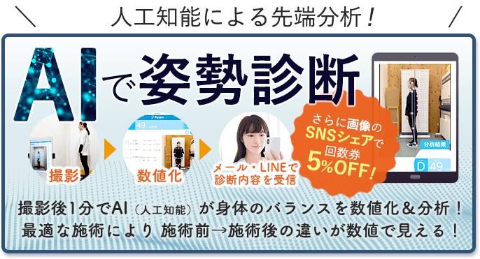 徳島県初AIによる姿勢分析