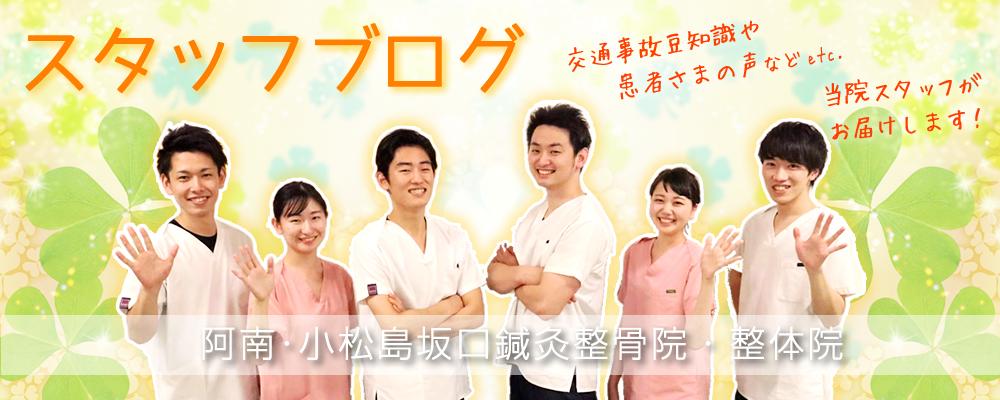 阿南・小松島坂口鍼灸整骨院・整体院スタッフブログ